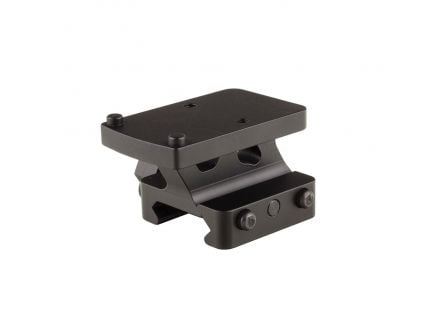 Trijicon RMR 7075 T6 Aluminum Quick Release Full Co-Witness Mount, Anodized Matte Black - AC32074