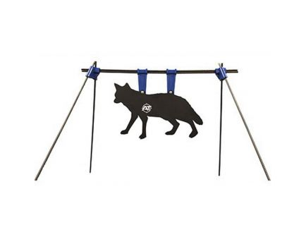 """Action Target 27"""" W x 17"""" H PT Coyote Gong Kit, Black/White - AT-133"""
