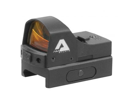 Aim Sports Micro Dot Pistol Edition 1x24mm Reflex Red Dot Sight, Illuminated 3.5 MOA Dot - RT5P1