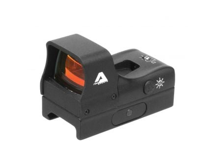 Aim Sports Compact 1x27mm Reflex Red Dot Sight, Illuminated 3.5 MOA Dot - RT5C1