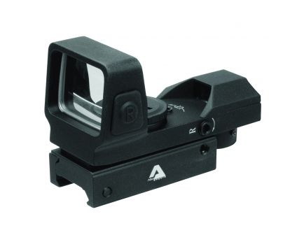 Aim Sports Full Size 1x33mm Reflex Red/Green Sight, Dual Illuminated 4 Pattern - RT503F
