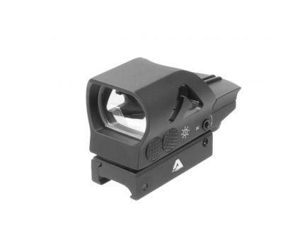 Aim Sports Full Size 1x34mm Reflex Red/Green Sight, Dual Illuminated 4 Pattern - RT506C