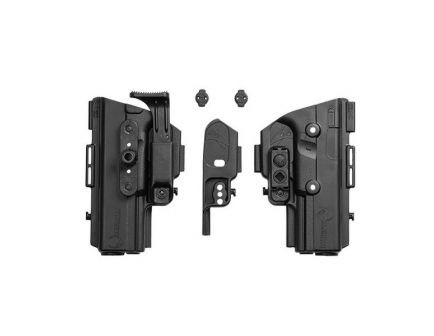 """Alien Gear Holsters ShapeShift Shell Right Hand 3.8"""" Springfield XD-M Compact IWB Holster, Black - SSIW0197RHXX"""