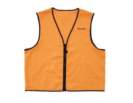 Allen Deluxe Blaze Polyester Small Hunting Vest, Orange - 15764