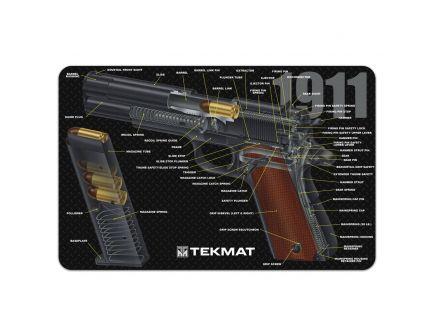 "TekMat 1911 3D Cutaway Cleaning Mat, 11"" W x 17"" H x 0.125"" T - R171911CA"