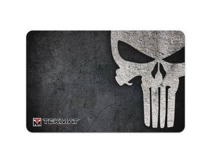 "TekMat Punisher Grunge Cleaning Mat, 11"" W x 17"" H x 0.125"" T, Black/White - R17PUNISHER"