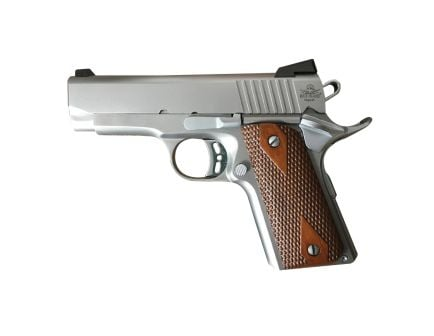 "Rock Island 1911 CS 45ACP ""ECS"" .45 ACP Pistol, Matte Stainless - 51868"