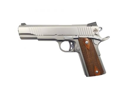 Rock Island Rock FS Tactical SS 45ACP .45 ACP Pistol, Matte Stainless - 51414