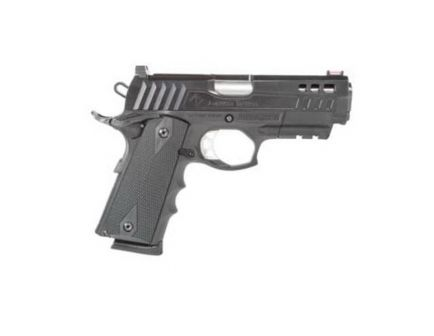 ATI Firepower Xtreme Hybrid Commander Size .45 ACP Pistol, Mil-Spec Hardcoat Anodized Black - ATIGFXH45C