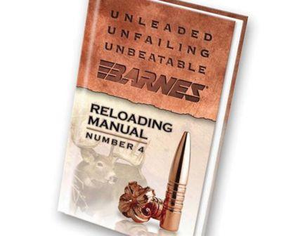 Barnes Bullets Number 4 Rifle Reloading Manual - 30745