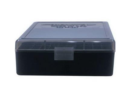 Berrys Bullets 003 .38 Spl/357 Mag 100 Round Flip-Top Ammo Box, Smoke/Black - 75321