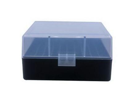 Berrys Bullets 005 .223 Rem/5.56 100 Round Flip-Top Ammo Box, Clear/Black - 03856