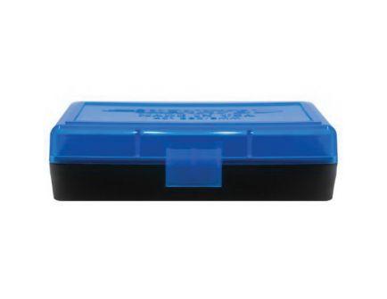 Berrys Bullets 401 .380/9mm 50 Round Flip-Top Ammo Box, Blue/Black - 53852
