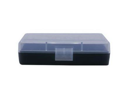 Berrys Bullets 401 .380/9mm 50 Round Flip-Top Ammo Box, Clear/Black - 71933