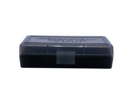Berrys Bullets 401 .380/9mm 50 Round Flip-Top Ammo Box, Smoke/Black - 19642