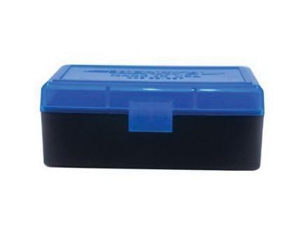 Berrys Bullets 403 .38 Spl/357 Mag 50 Round Flip-Top Ammo Box, Blue/Black - 36713
