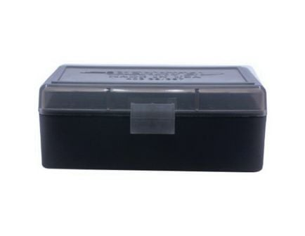 Berrys Bullets 403 .38 Spl/357 Mag 50 Round Flip-Top Ammo Box, Smoke/Black - 92948