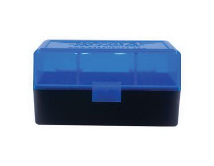 Berrys Bullets 405 .223 Rem/5.56 50 Round Flip-Top Ammo Box, Blue/Black - 44661