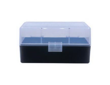 Berrys Bullets 405 .223 Rem/5.56 50 Round Flip-Top Ammo Box, Clear/Black - 79462