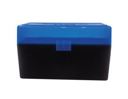 Berrys Bullets 409 .243 Win/.308 Win 50 Round Flip-Top Ammo Box, Blue/Black - 82467