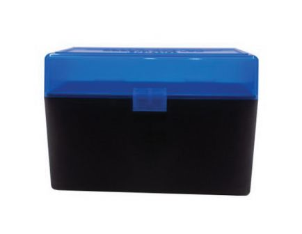 Berrys Bullets 410 .270 Win/.30-06 Spfld 50 Round Flip-Top Ammo Box, Blue/Black - 50199