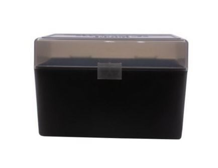 Berrys Bullets 410 .270 Win/.30-06 Spfld 50 Round Flip-Top Ammo Box, Smoke/Black - 32019