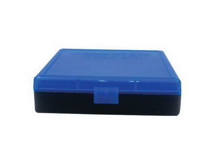 Berrys Bullets 008 .40 S&W/.45 ACP/10mm 100 Round Flip-Top Ammo Box, Blue/Black - 67789
