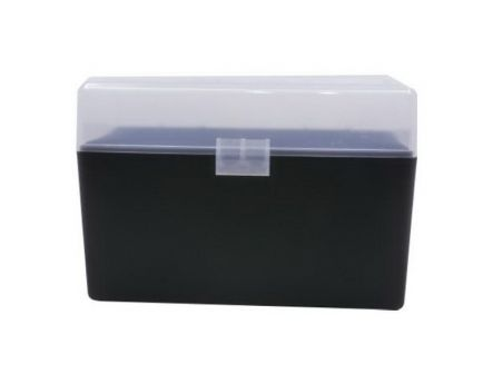 Berrys Bullets 410 .270 Win/.30-06 Spfld 50 Round Flip-Top Ammo Box, Clear/Black - 91023