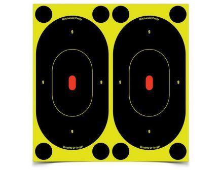 """Birchwood Casey Shoot-N-C 7"""" Self-Adhesive Silhouette Target, Black, 60/pack - 34750"""