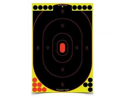 "Birchwood Casey Shoot-N-C 12"" x 18"" Self-Adhesive Silhouette Target, Black, 12/pack - 34617"
