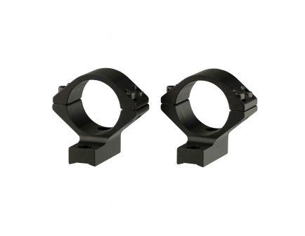 Browning 30mm Standard Aluminum Alloy Lightweight 2-Piece Integrated Scope Ring, Matte Black - 123011