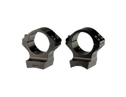 Browning 30mm Standard Aluminum Alloy Lightweight 2-Piece Integrated Scope Ring, Matte Black - 12510