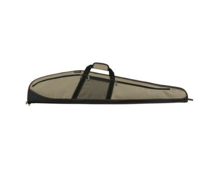 Bulldog Cases Plus Rifle Case, Khaki with Black - BD221