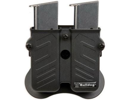 Bulldog Cases Max Multi-Fit Ambidextrous Hand S&W/M&P OWB Magazine Holder Holster, Black - MXM