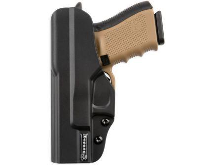 Bulldog Cases Inside Pants Right Hand Glock 17/22/31 IWB Holster w/ Metal Clip, Black - PIPG17