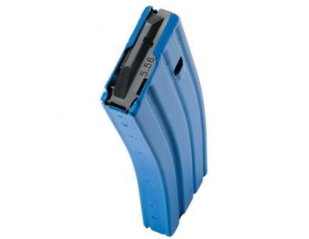 C Products Defense 30 Round .223 Rem/5.56 Magazine, Blue - 3023005175CPD