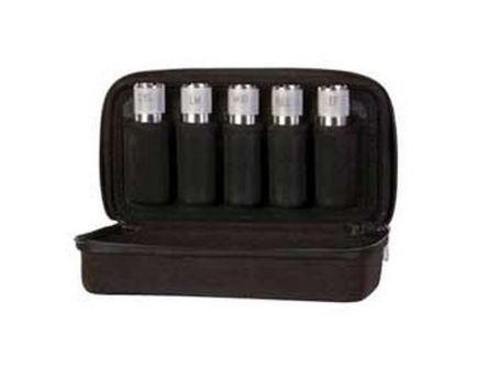 Carlson's Choke Tubes Protective Choke Tube Case, 5 Tube, Textured Black - 00400