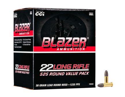 CCI Blazer 38gr RN 22 LR Ammo, 525rds - 10022