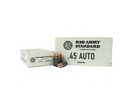 Century Arms Red Army Standard 230 gr FMJ .45 Auto Leaded Ammo, 50/box - AM3262