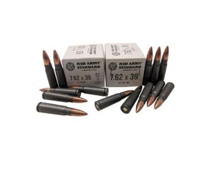 Century Arms 122 gr FMJ 7.62x39mm Ammo, 20/box - AM3266