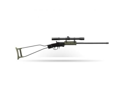 Chiappa Firearms Little Badger .22lr Break Open Rifle, Green - 500.232
