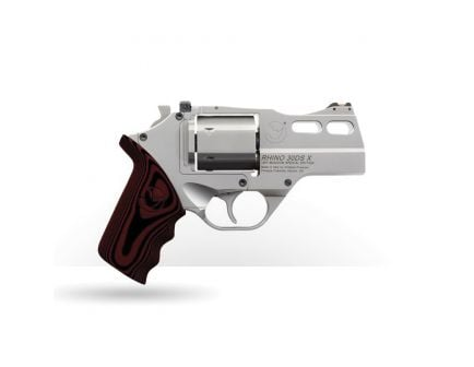 Chiappa Firearms Rhino Revolver 30DS X Special Edition .357 Mag Revolver, Matte Stainless - 340.308