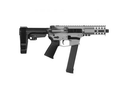 CMMG Banshee 300 MKGS 9mm AR Pistol, Cerakote Titanium - 99A172F-TI