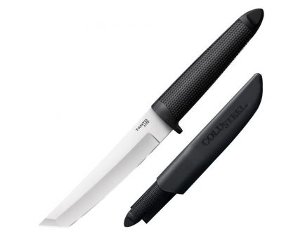 """Cold Steel Tanto Lite Fixed Knife, 6"""", Black - 20TL"""