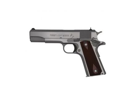 Colt 1911 Government .38 Super Pistol, Stainless - O1911CSS38