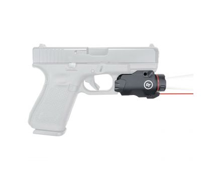 Crimson Trace Rail Master Pro Universal Red Laser Sight and Tactical Light, Black - CMR207
