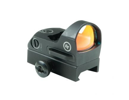 Crimson Trace Compact Open 1x Reflex Red Dot Sight, Illuminated 3.5 MOA Round Dot - CTS1300