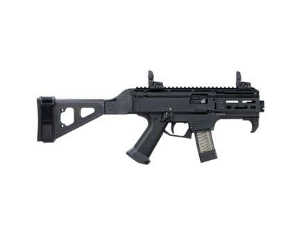 CZ-USA CZ Scorpion EVO 3 S2 Micro (Low Capacity) 9mm AR Pistol w/ Folding Brace, Blk - 01345