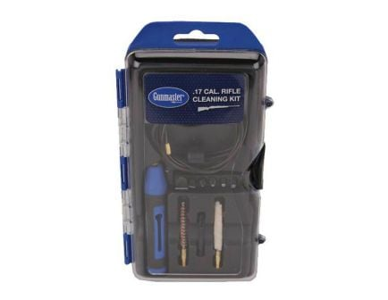 DAC Rifle Cleaning Kit with 6 Piece Driver Set, .17 Cal, 14 Piece - GM17R