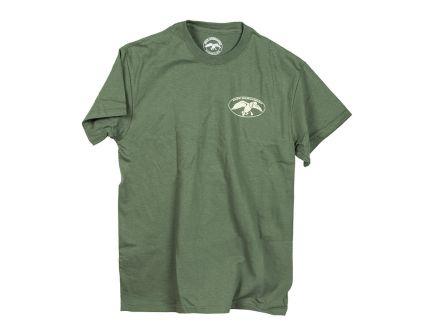 """Duck Commander """"Faith.Family.Ducks"""" Moss Green T-Shirt, Size Small - DSFFD06"""